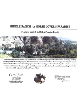 Middle Ranch